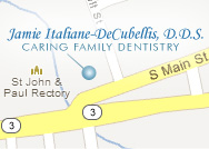 Driving Directions to Dr. Italiane Office in Coventry, RI